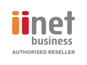iiNet Business Authorised Reseller Logo