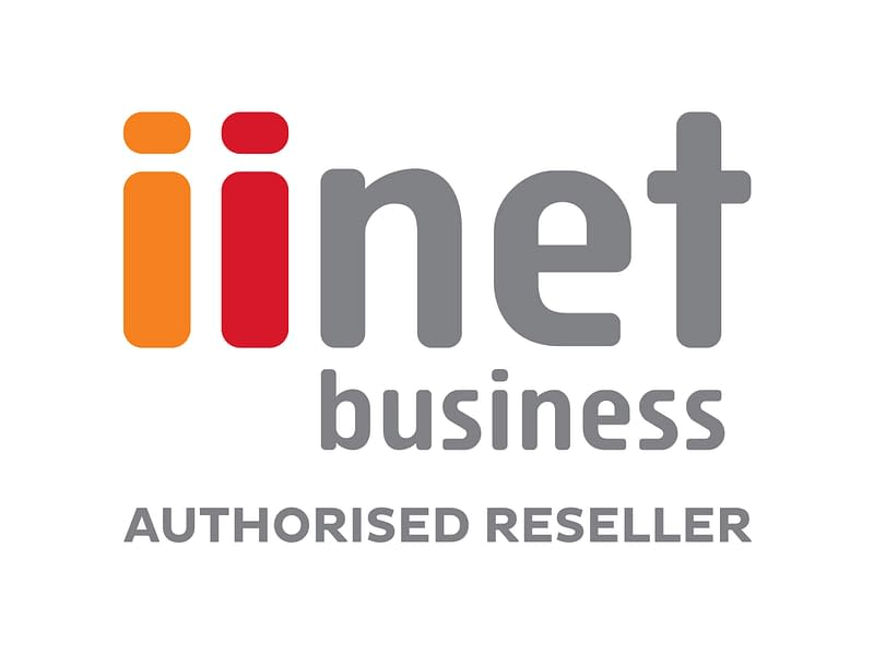 iiNet Business Authorised Reseller Logo